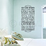 Wall Sayings Vinyl Lettering