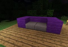 steps to make Furniture in Minecraft