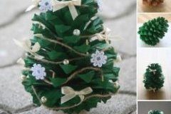 pine-cone Christmas Ornament