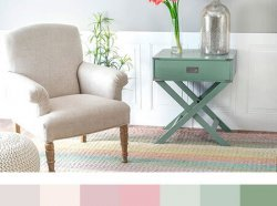 poor Chic family room Color Palette