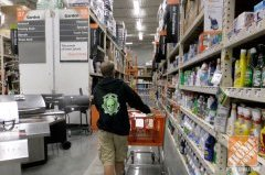 Shopping for supplies for Residence Depot Halloween Style Challenge