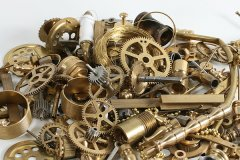 Small brass parts - Steampunk Decor