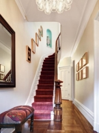 this old home editor scott Omelianuk's simple entryway and stairs, foolproof staging tips from decorators
