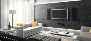 Black and White Home Decor