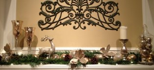 Christmas decorations for home interior