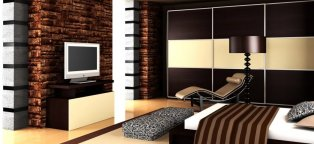 Images of Interior design of bedroom