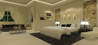 Photos of Interior design of bedroom