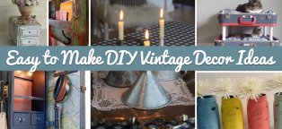 Vintage-Looking Home Decor