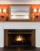 toh tv auburndale residence after with mirror over mantel in residing location, foolproof staging tips from decorators