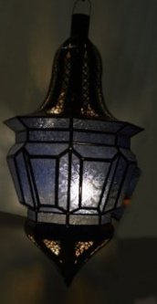 X-Large Moroccan Lanterns Blue