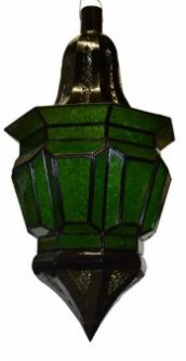 X-Large Moroccan Lanterns Green
